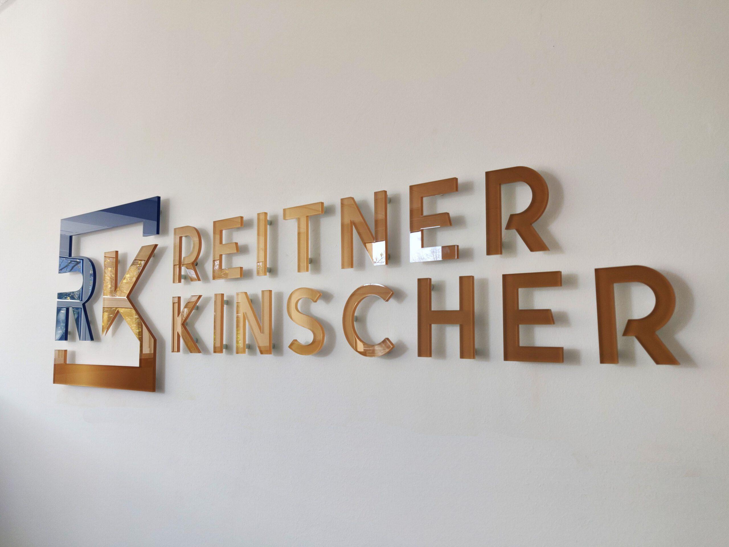 Logo Wand Eröffnung - REITNER KINSCHER Rechtsanwälte Fachanwälte Notar - Essen Kettwig