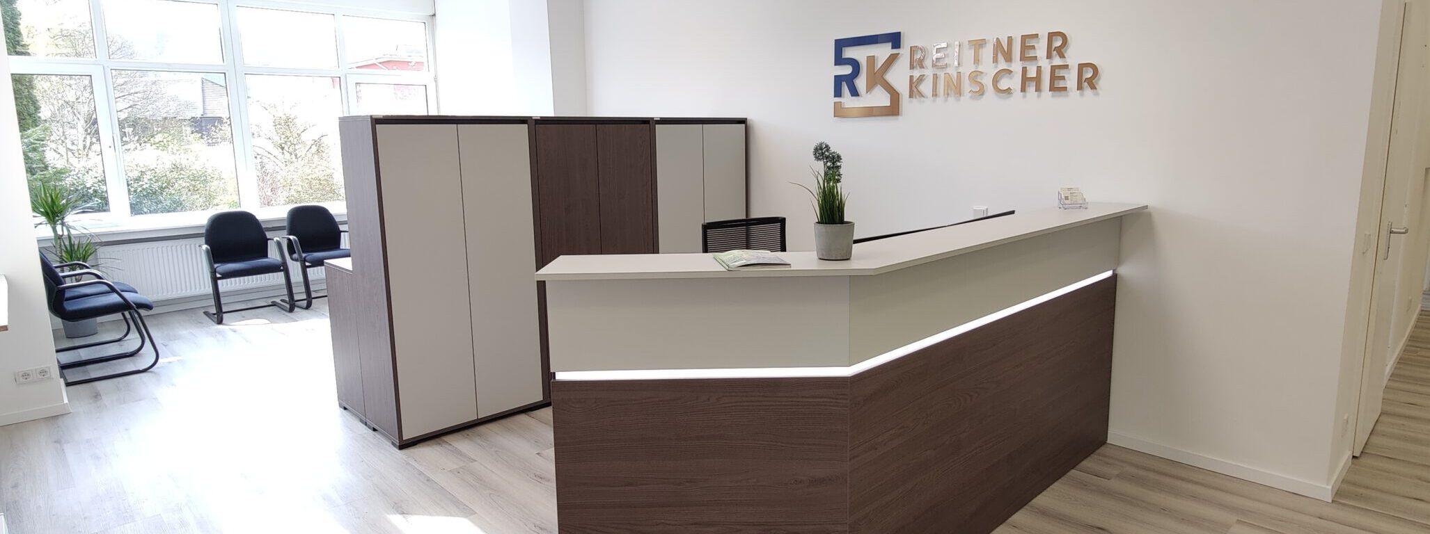 Empfang - REITNER KINSCHER Rechtsanwälte Fachanwälte Notar - Essen Kettwig